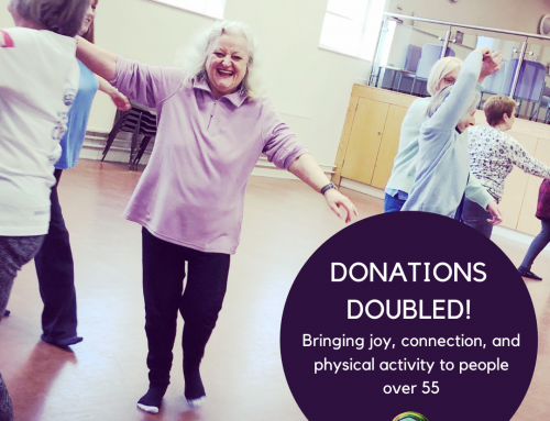 Donations Doubled! Supporting our over 55s community this winter.